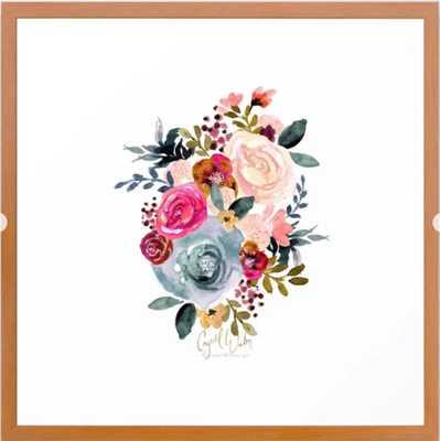 Autumn Rose Framed Art Print - Society6