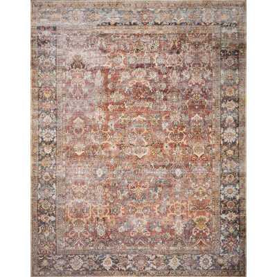 "Wicksham Oriental Power Loom Spice Rug 5 x 7 6"" - Wayfair"