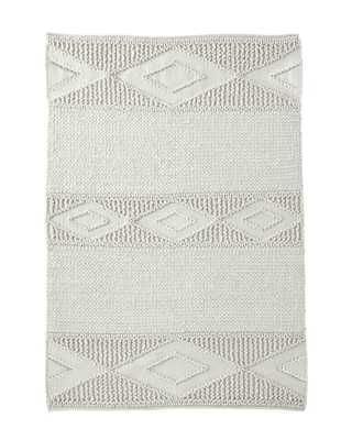 Macramé Wool Rug - Ivory - 5' x 7' - Serena and Lily