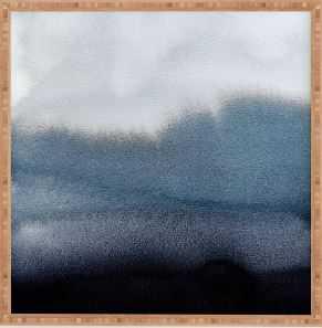 IN BLUE Framed Wall Art By Georgiana Paraschiv - Wander Print Co.