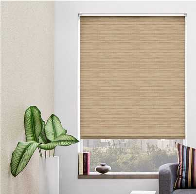 Custom Grassweave Natural Roller Shade - The Shade Store