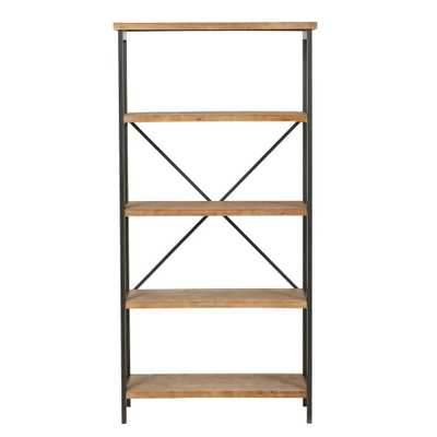 "Winsten 4-shelf Firwood Display Bookcase by Christopher Knight Home - 34.25"" W x 13.50"" D x 68.70"" H - Overstock"