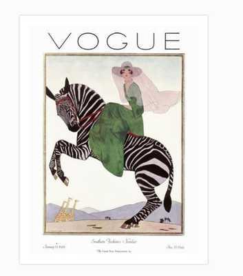 """VOGUE COVER - JANUARY 1926 - 9"""" x 12"""" - art.com"""