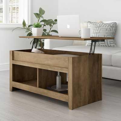 Melanarka Lift Top Coffee Table with Storage - Wayfair