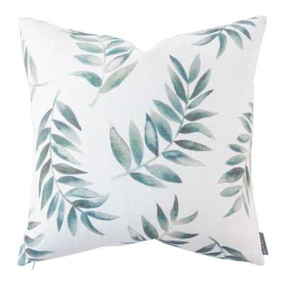 "YORK BOTANICAL PILLOW WITHOUT INSERT, 20"" x 20"" - McGee & Co."