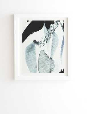 """ABSTRACTM5 Wall Art - 11"""" x 13"""" - White Frame - Wander Print Co."""