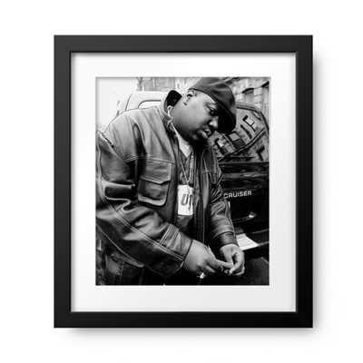 Rapper Notorious B.I.G., aka Biggie Smalls, aka Chris Wallac - Photos.com by Getty Images