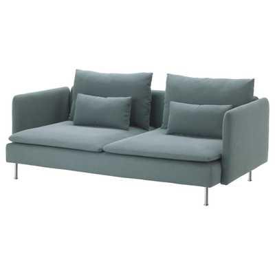 SÖDERHAMN Sofa, Finnsta turquoise - Ikea
