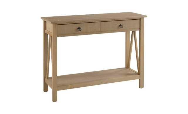 Console Table Grey - Linon Home Decor - Target