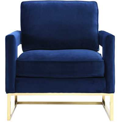 Aloisio Armchair - Navy - Wayfair