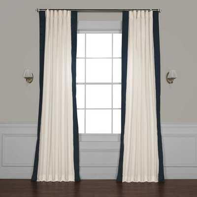 Winsor Semi-Sheer Rod Pocket Single Curtain Panel - AllModern