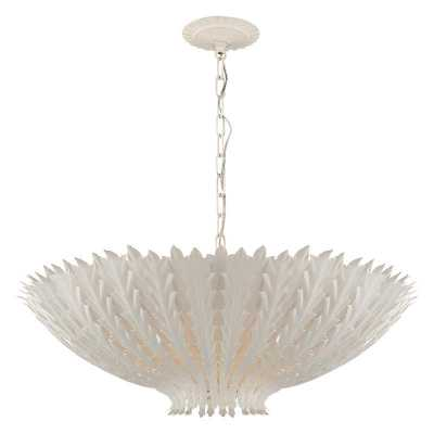 HAMPTON LARGE CHANDELIER - PLASTER WHITE - McGee & Co.