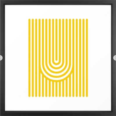 U, Framed Art Print - Society6
