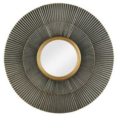 CORRUGATED SUNBURST MIRROR - Shades of Light