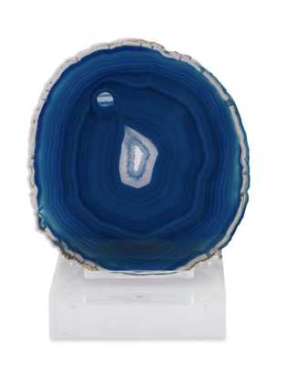 JAU SCULPTURE, BLUE - Curated Kravet