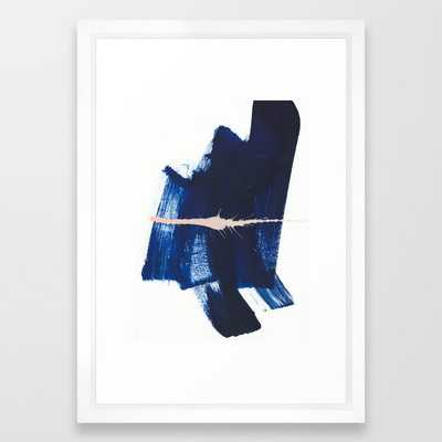brush strokes 4 Framed Art Print - Society6