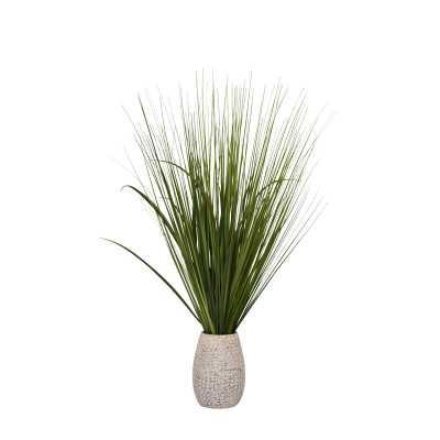 """30"""" Artificial Foliage Grass in Pot - Wayfair"""