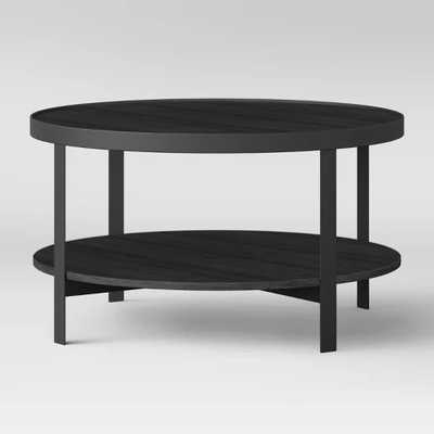 Riehl Metal Round Coffee Table, Black - Project 62™ - Target