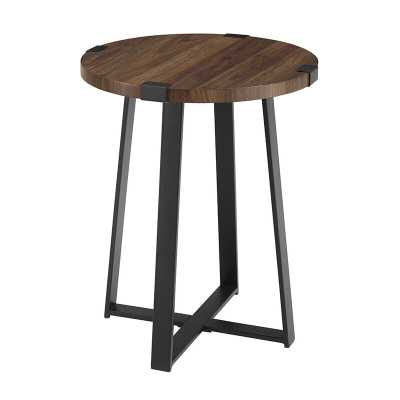 Enrique Cross Legs End Table - Wayfair
