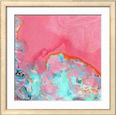 Pink Marble Artwork - art.com