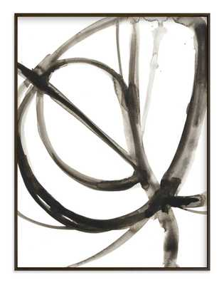 """Plant Cell 6 / 40"""" x 54"""" / Rich Black Wood Frame - Minted"""
