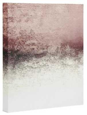 SNOWDREAMER BLUSH Art Canvas - Wander Print Co.