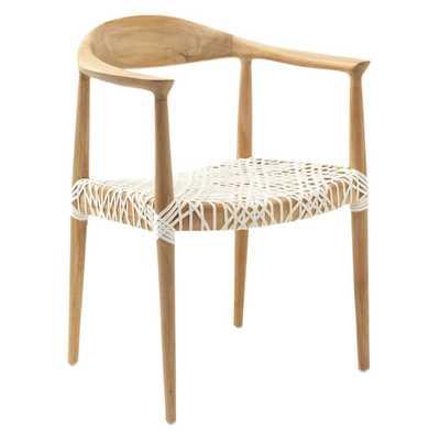 Safavieh Bandelier Arm Chair - Hayneedle