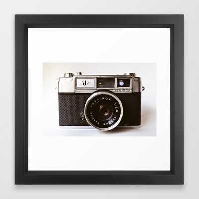 Camera II Framed Art Print - Society6