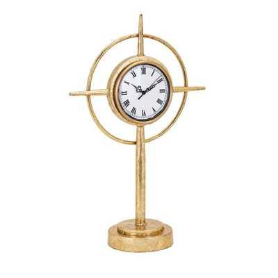 Compass Standing Clock - Mercer Collection