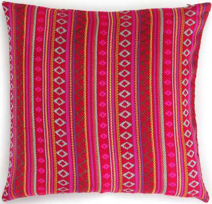 Francisco Pillow, Pink - with Insert - Lulu and Georgia