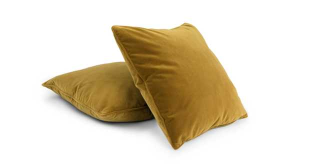 Lucca Yarrow Gold - Pillow Set of 2 - Article