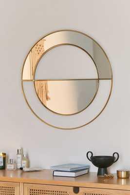 Tessa Mod Semicircle Wall Mirror - Urban Outfitters