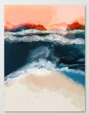 water world Canvas Print - Society6