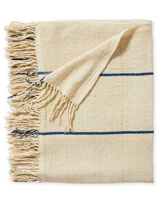 Lombard Silk Throw - Serena and Lily