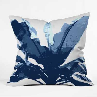 BANANARAMA NAVY Pillow - 18'' x 18'' - Wander Print Co.