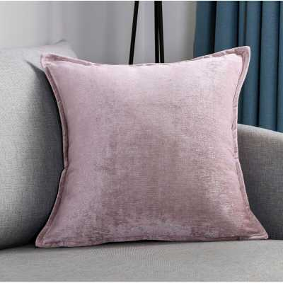 "Fabius 18"" Throw Pillow (Set of 2), Lilac - Wayfair"