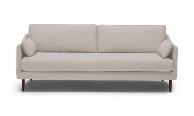 Beige Bates Mid Century Modern Sofa - Merit Dove - Mocha - Joybird