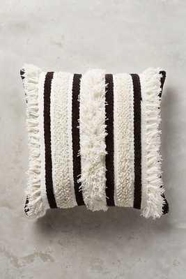 Textured Indira Pillow - Anthropologie