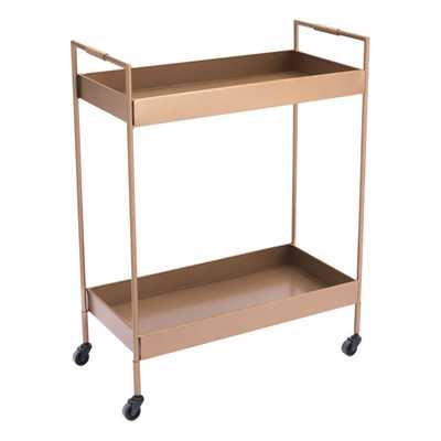 Gold Bar Cart Gold - Zuri Studios
