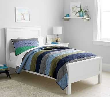 Charlie Low Footboard Bed, Twin, Simply White, Flat Rate - Pottery Barn Kids