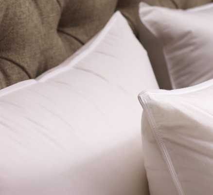 Down Alternative Sleeping Pillow Insert - Euro Square: Havenly Recommended Basic - Noble Feather Co.