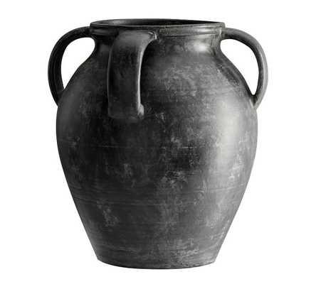 Joshua Vase, Black - Medium - Pottery Barn