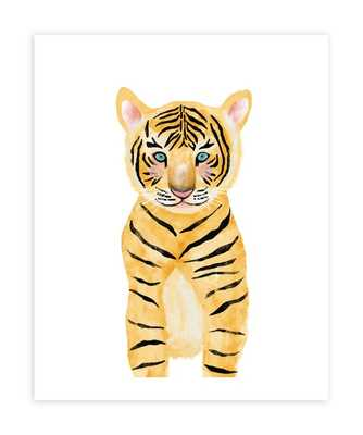 "Baby Animal Tiger, 16""x20"", Unframed Print - Minted"