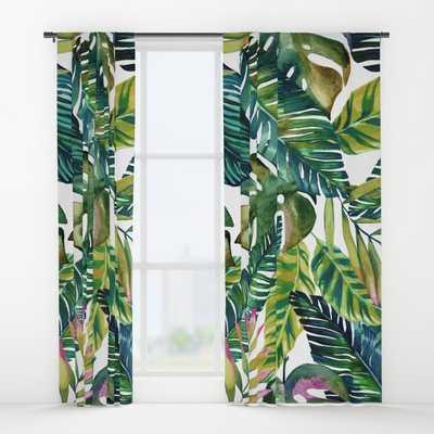 banana life Window Curtains - Set of 2 - Society6