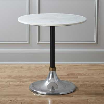 hackney marble cocktail table - CB2