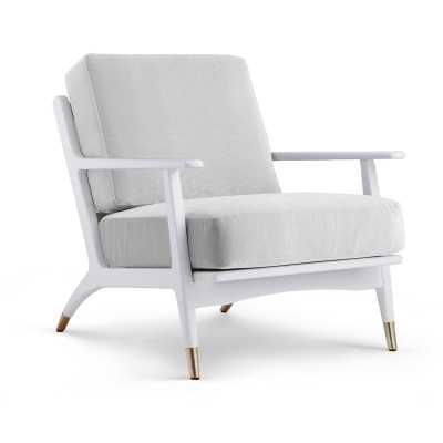 HART LOUNGE CHAIR, WHITE - Bungalow 5