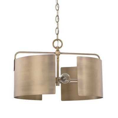 CLASSIC ARCHITECTURAL DRUM CHANDELIER - Shades of Light