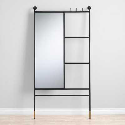 Leaning Ladder Mirror: Black by World Market - World Market/Cost Plus