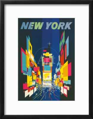 Travel Poster, New York City - art.com