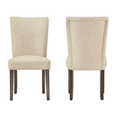 Lancaster Parsons Chair, ( set of 2) - Wayfair